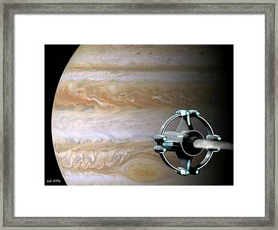 Meeting Jupiter Framed Print