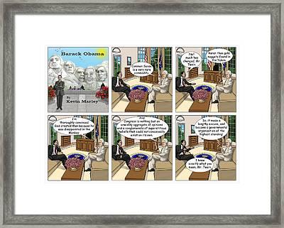 Meeting Mark Twain I Framed Print