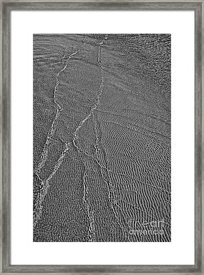 Meeting Point - Black And White Framed Print by Hideaki Sakurai