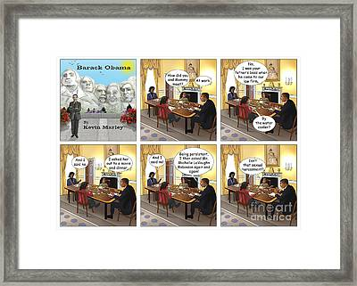 Meeting Your Mother Framed Print by Kevin  Marley