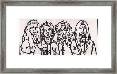 Megadeth Framed Print