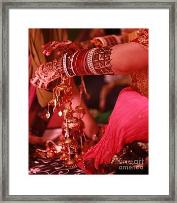 Mehndi Framed Print by Arvi Grover