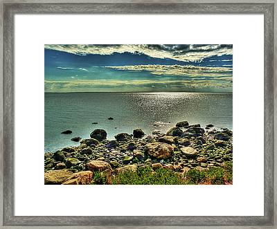 Meig's Point Framed Print