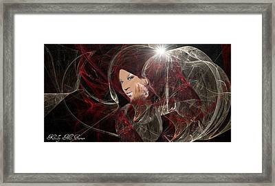Melanie Amaro Framed Print by Kelly Turner