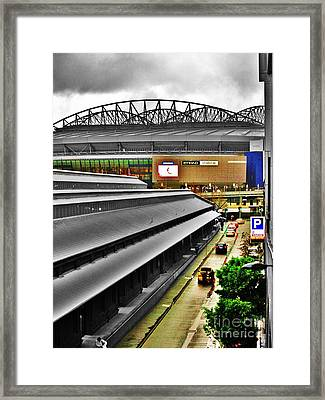 Framed Print featuring the photograph Melbourne Docklands by Blair Stuart