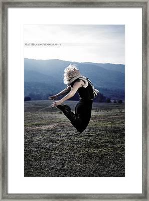 Melissa Portrait 02 Framed Print