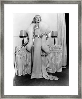 Melody In Spring, Ann Sothern, 1934 Framed Print by Everett