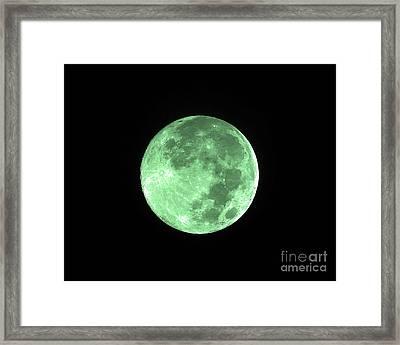 Melon Moon Framed Print by Al Powell Photography USA