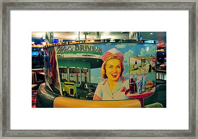Mels Drive In Framed Print by David Lee Thompson