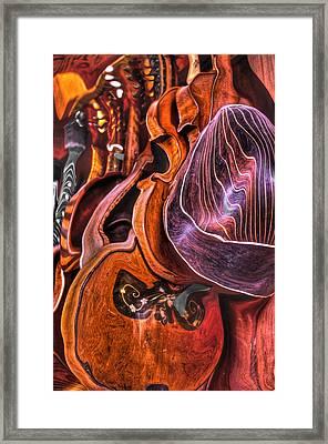 Melt-olins Framed Print by Frank SantAgata