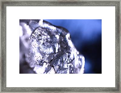 Melted Glass 2 Framed Print by Will Czarnik