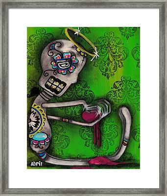 Melting Framed Print by  Abril Andrade Griffith