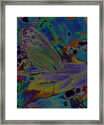 Melting Colors Framed Print
