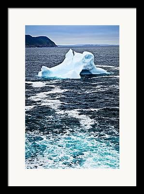 Iceberg Framed Prints