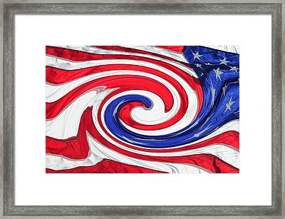 Melting Pot Framed Print