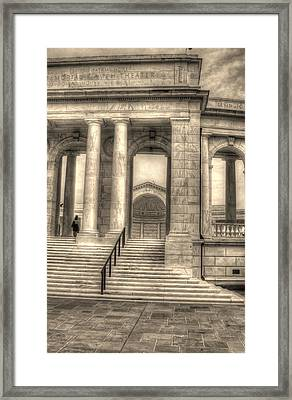 Memorial Amphitheater Framed Print