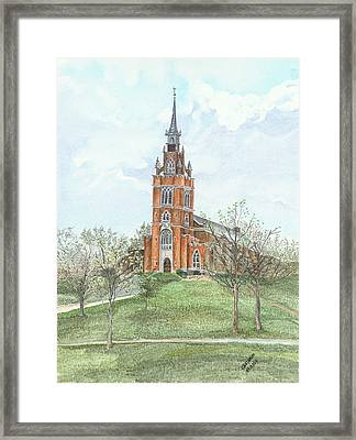 Memorial Chapel  Framed Print