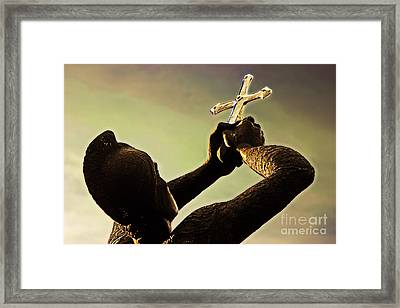 Memorial To Armenian Genocide Framed Print