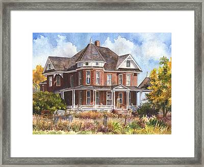 Memories Framed Print by Anne Gifford