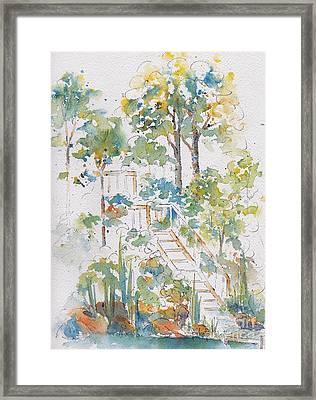 Memories Lucien Lake Framed Print by Pat Katz
