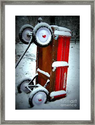 Framed Print featuring the photograph Memories by Nancy Dole McGuigan