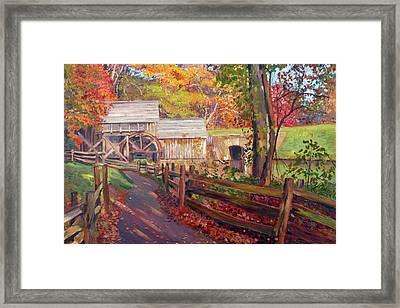 Memories Of Autumn Framed Print