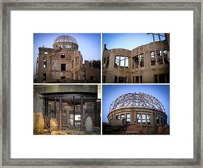 Memories Of Destruction Framed Print by Roberto Alamino