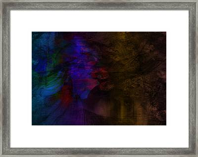 Framed Print featuring the painting Memories Of Love by Susan  Solak