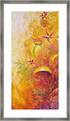 Memories Of Paradise II Framed Print by Dina Dargo
