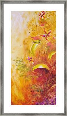 Memories Of Paradise II Framed Print