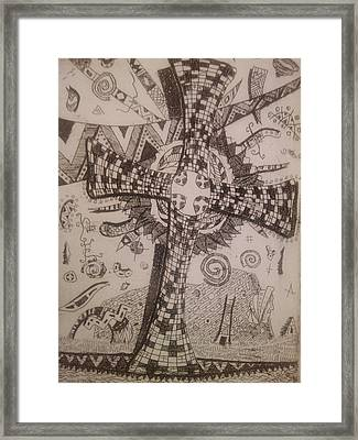 Memories Of The Homeland Framed Print by Branko Jovanovic