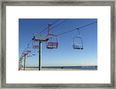 Memories Of The Jersey Shore Framed Print by John Van Decker