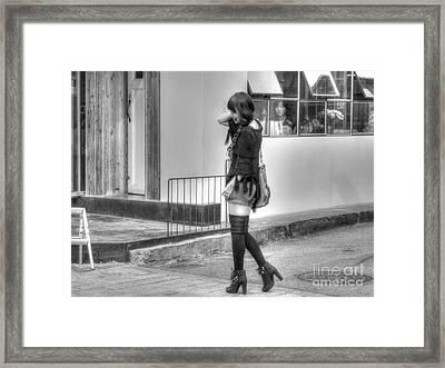 Memories Of Youth Framed Print by Michael Garyet