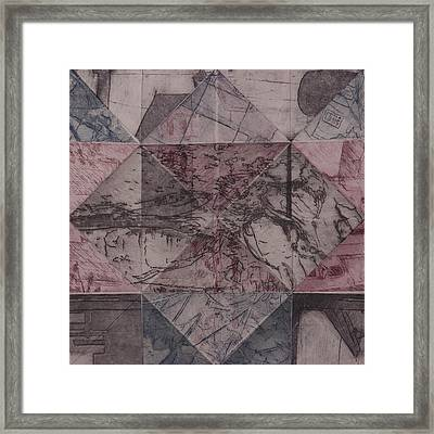 Memory Is Cluttered So I Live In The Moment Framed Print by Megan Little