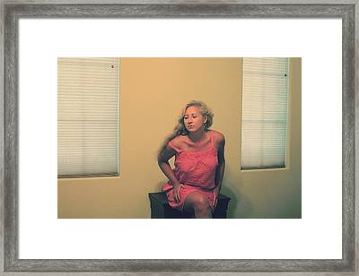 Memory Takes Over Framed Print by Laurie Search
