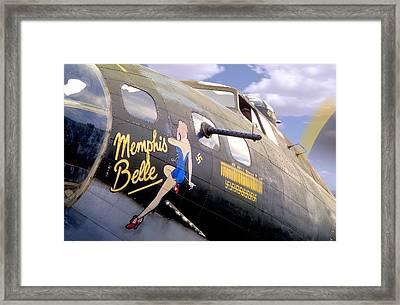 Memphis Belle Noce Art B - 17 Framed Print by Mike McGlothlen