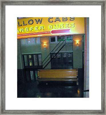 Memphis Night Train Framed Print by Todd Sherlock