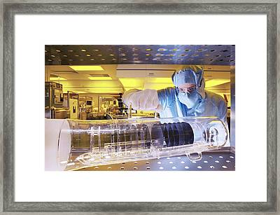 Mems Production Framed Print by Colin Cuthbert
