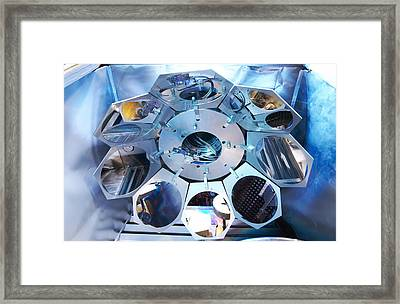 Mems Production, Metal Evaporation Framed Print by Colin Cuthbert