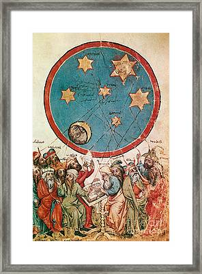 Men & Their Guiding Stars Framed Print by Science Source