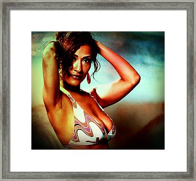 Framed Print featuring the photograph Mennail by Alice Gipson