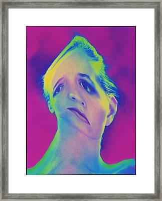 Mental Disorder Framed Print by Mehau Kulyk