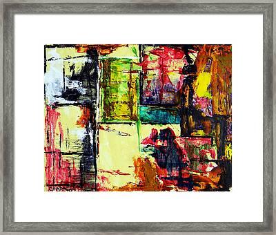 Mental Slum Framed Print