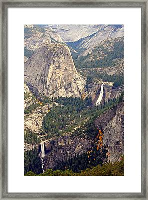 Merced River Canyon Framed Print
