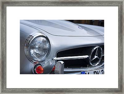 Mercedes-benz 190sl Roadster Framed Print by Andrew  Michael