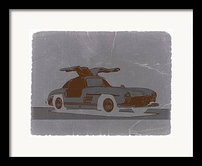 Mercedes Benz 300 Classic Car Framed Prints