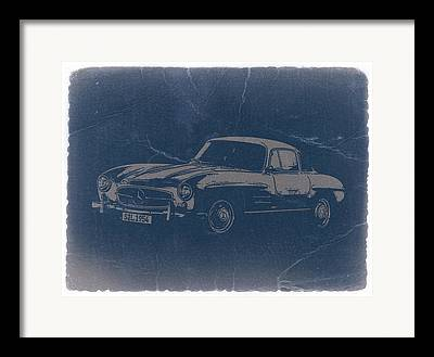 Mercedes Benz 300 Sl Classic Car Framed Prints