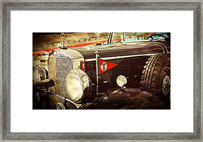 Mercedes Benz Framed Print