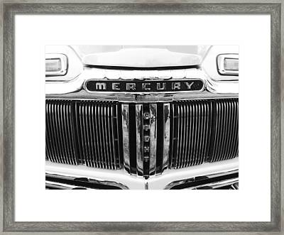 Mercury Grill  Framed Print by Kym Backland
