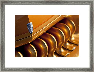Mercury Hot Rod Grille Framed Print by Jill Reger